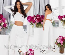 Женский летний костюм с брюками новинка 2021