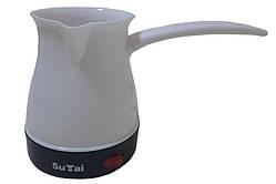 Турка електрична SuTai ST-01, біла