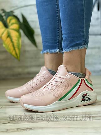 Кросівки жіночі 14554, Fila Wade Running, рожеві, [ 37 38 39 ] р. 37-22,5 див., фото 2