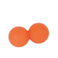 М'ячик подвійний для масажу LivePro THERAPY MASSAGE PEANUT BALL