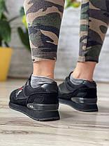 Кросівки жіночі 15642, Fila, чорні, [ 36 37 38 39 41 ] р. 36-23,0 див., фото 2