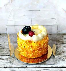 Упаковка для міні десертів, коробочка розміром 8х8х8 см (ціна за 1 шт)