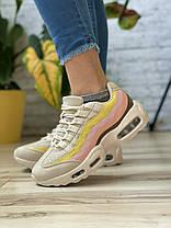 Кросівки жіночі 17143, Air, бежеві, [ 36 38 39 40 41 ] р. 36-23,3 див., фото 2