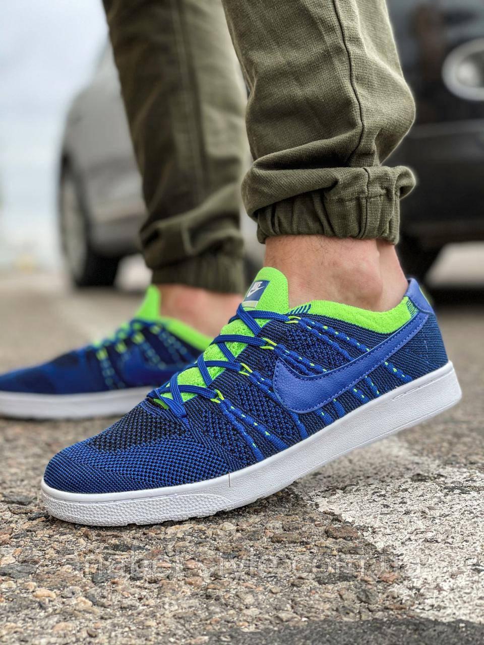 Кросівки чоловічі 18081, Nike Tennis Classic Ultra Flyknit, темно-сині, [ 41 42 44 45 ] р. 41-26,5 див.