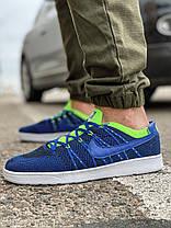 Кросівки чоловічі 18081, Nike Tennis Classic Ultra Flyknit, темно-сині, [ 41 42 44 45 ] р. 41-26,5 див., фото 3