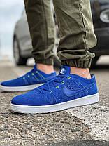 Кроссовки мужские 18083, Nike Tennis Classic Ultra Flyknit, темно-синие [ 41 42 43 44 45 ] р.(41-26,5см), фото 2