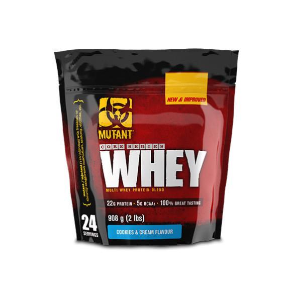 Сывороточный протеин концентрат Mutant Whey (908 г) мутант вей triple chocolate