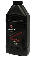 Гальмівна рідина Azmol DOT-4 кан. 1л