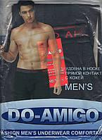 Кальсоны с начёсом-мехом мужские х/б Do-Amigo, размеры L-3XL, 856