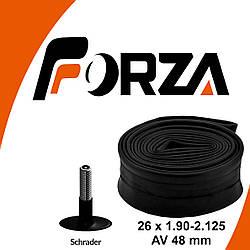 Камера FORZA 26 х 1.90 - 2.125 AV/автониппель 48 мм