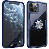 "Протиударний чохол Deen CrystalRing під магнітний тримач для Apple iPhone 12 Pro Max (6.7""), фото 3"