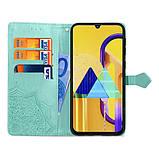 Кожаный чехол (книжка) Art Case с визитницей для Samsung Galaxy M30s / M21, фото 3