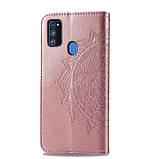 Кожаный чехол (книжка) Art Case с визитницей для Samsung Galaxy M30s / M21, фото 5
