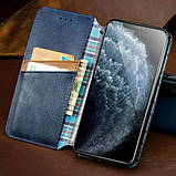 Шкіряний чохол книжка GETMAN Cubic (PU) для Samsung Galaxy A31, фото 2