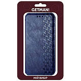 Шкіряний чохол книжка GETMAN Cubic (PU) для Samsung Galaxy A31, фото 5