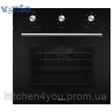 Ventolux EO56M-6K BK (6 программ) электрический духовой шкаф