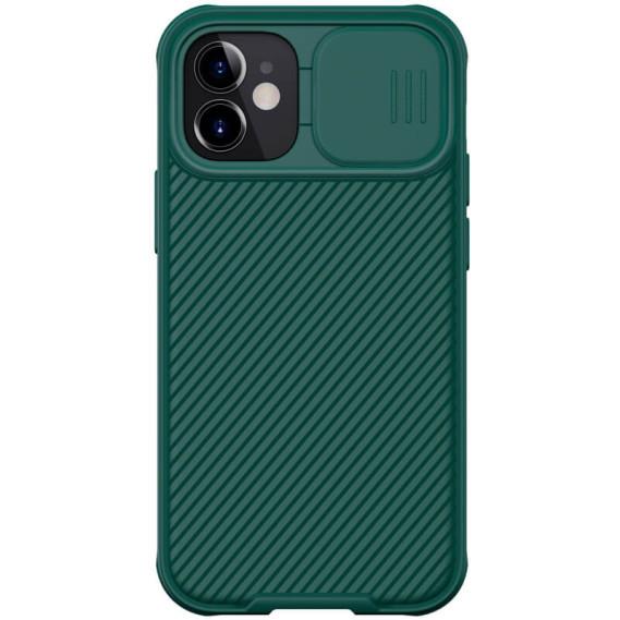 "Карбонова накладка Nillkin Camshield (шторка на камеру) для Apple iPhone mini 12 (5.4"")"