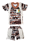 """Костюмы детские футболка шорты """" Макс"""" для мальчика р.56. От 3шт по 36грн, фото 3"""