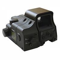 Коллиматорный прицел EOTech 550 + ЛЦУ EOLAD 2 Black