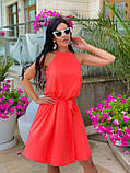 Літнє плаття жіноче Софт Розмір 42 44 46 48 В наявності 5 кольорів, фото 2