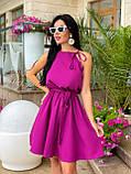 Літнє плаття жіноче Софт Розмір 42 44 46 48 В наявності 5 кольорів, фото 3