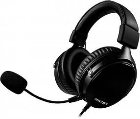 Гарнітура Hator Hyperpunk Black (HTA-820)