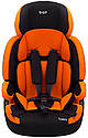 Автокрісло Bair Beta 1/2/3 (9-36 кг) DB2421 чорний - помаранчевий, фото 2