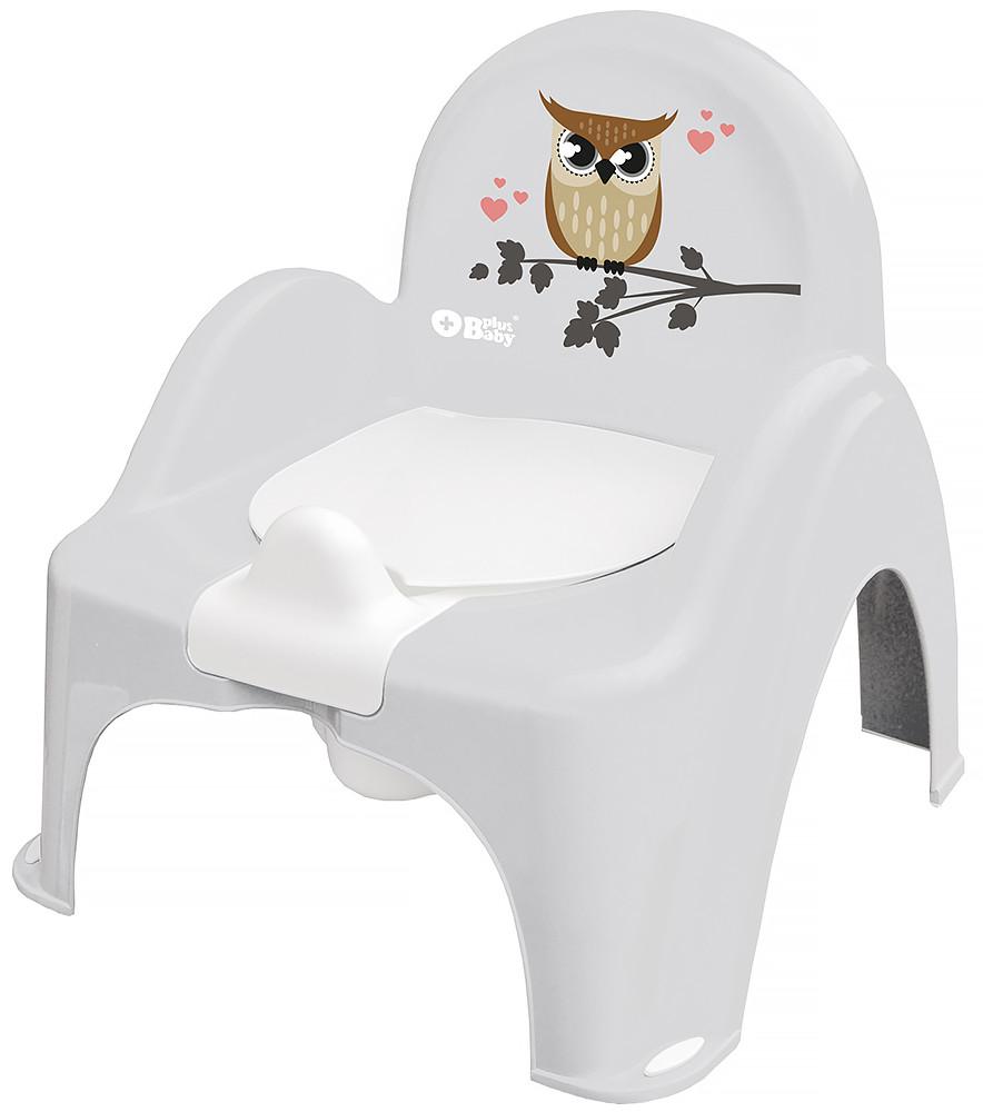 Горщик-стільчик Tega Owl (plus baby) PB-SOWA-007 106 grey