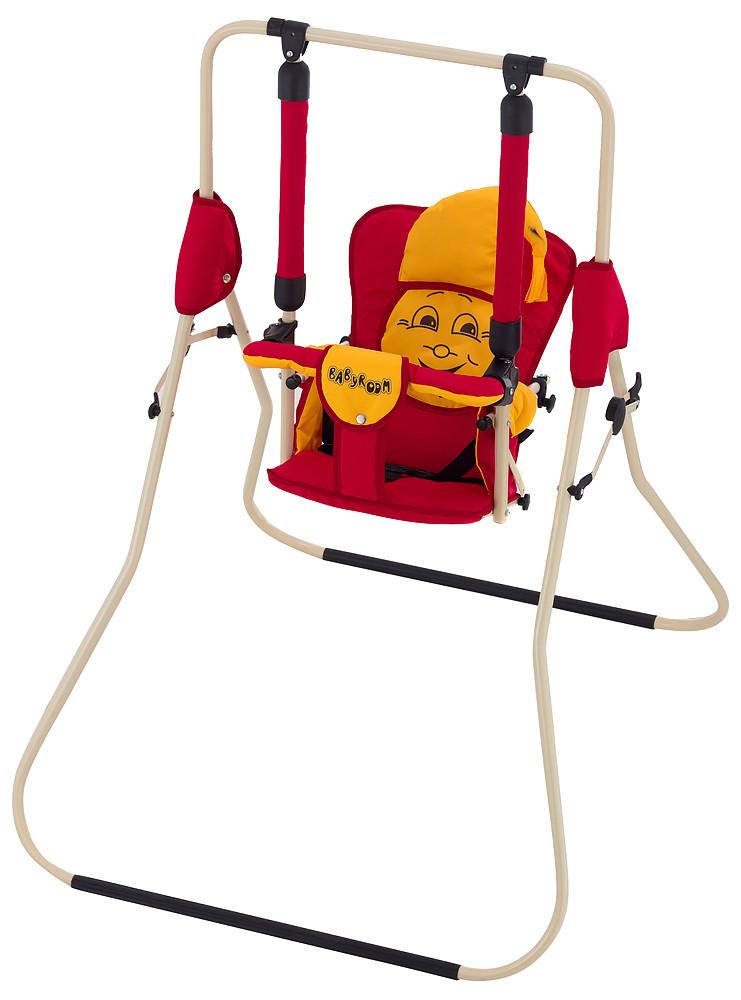Гойдалка Babyroom Casper червоний-оранжевий