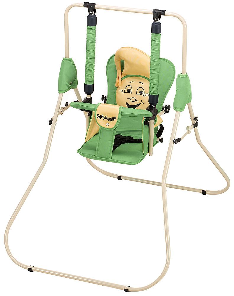 Гойдалка Babyroom Casper зелений-бежевий