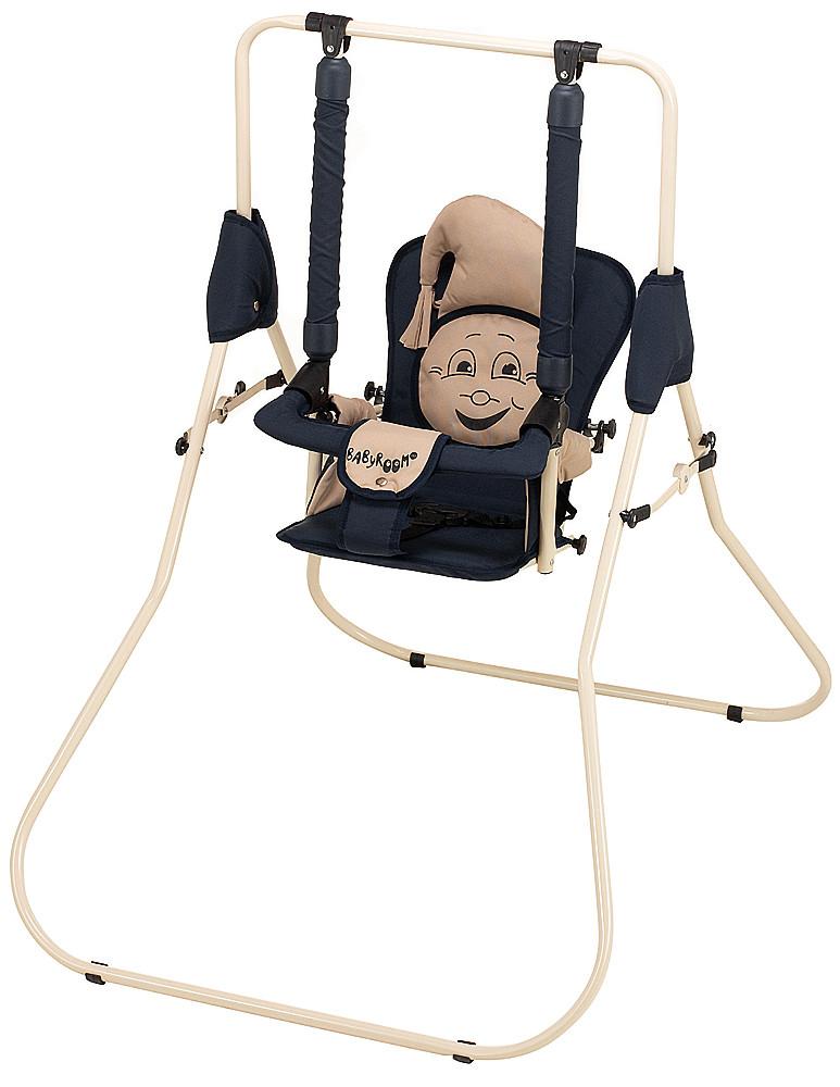 Гойдалка Babyroom Casper т. синій, бежевий