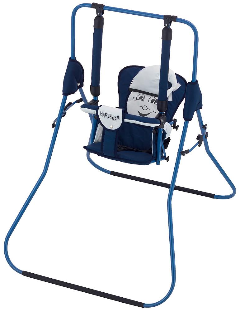 Гойдалка Babyroom Casper т. синій-білий