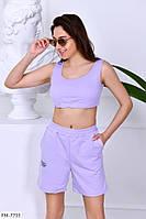 Спортивні короткі шорти жіночі легкі літні вільні з кишенями р-ри 40-46 арт.2109