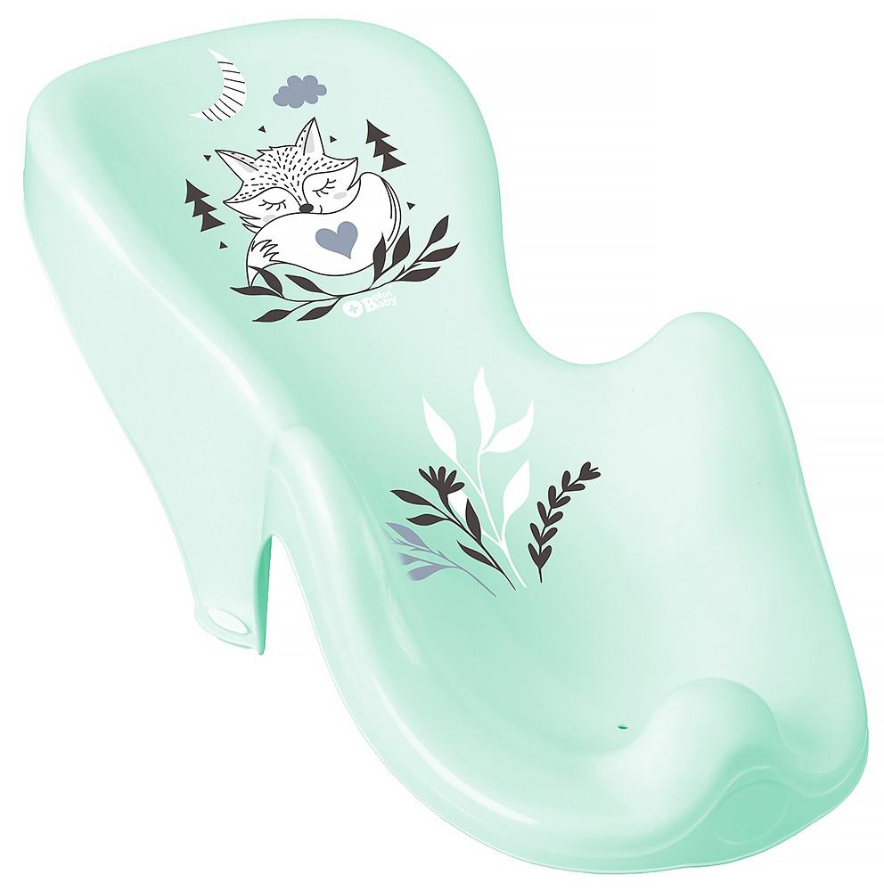 Гірка для купання Tega Little Fox (Plus Baby) PB-LIS-003 нековзна 105 light green