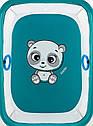 Манеж Qvatro Солнышко-02 мелкая сетка  морская волна (panda), фото 2