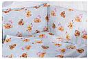 Детская постель Qvatro Gold RG-08 рисунок  голубая (винни-пух, тигра, пятачок), фото 2