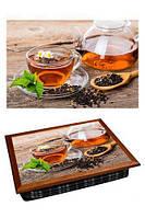 Піднос на подушці 040372 чай з ромашками