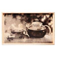 Столик для сніданку в ліжку 040177 чайник і чашка