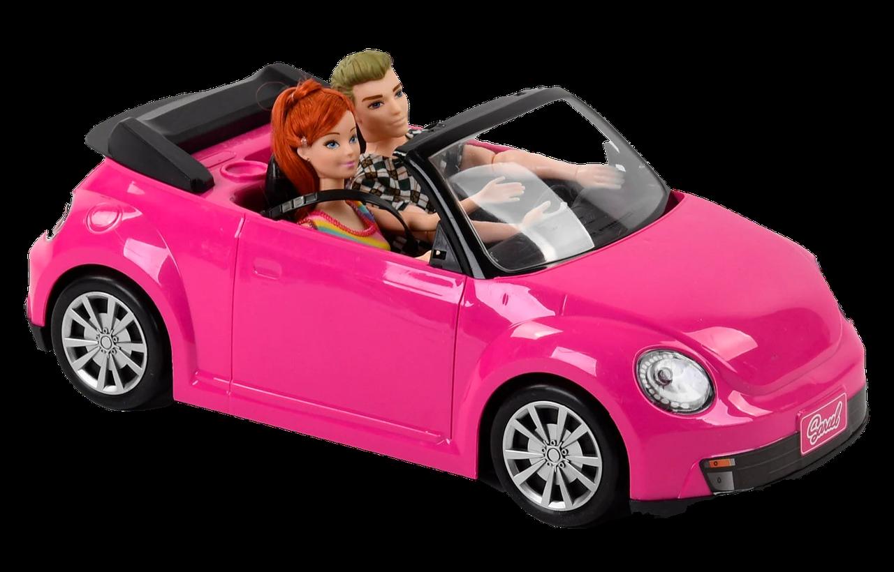 """Лялька з машинкою 6633 C (12/2) """"Автомобільну подорож"""", світло, звук, 2 ляльки, машина, в коробці [Коробка] -"""