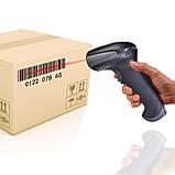 Провідний сканер штрих-коду Netum NT-F5 USB 1D, фото 3