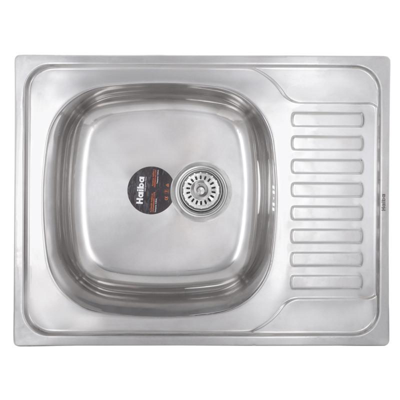 Мойка кухонная HAIBA 65x50 (polish) (HB0554)