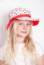 Пляжний головний убір літня дитяча шапочка для дівчинки 53-54