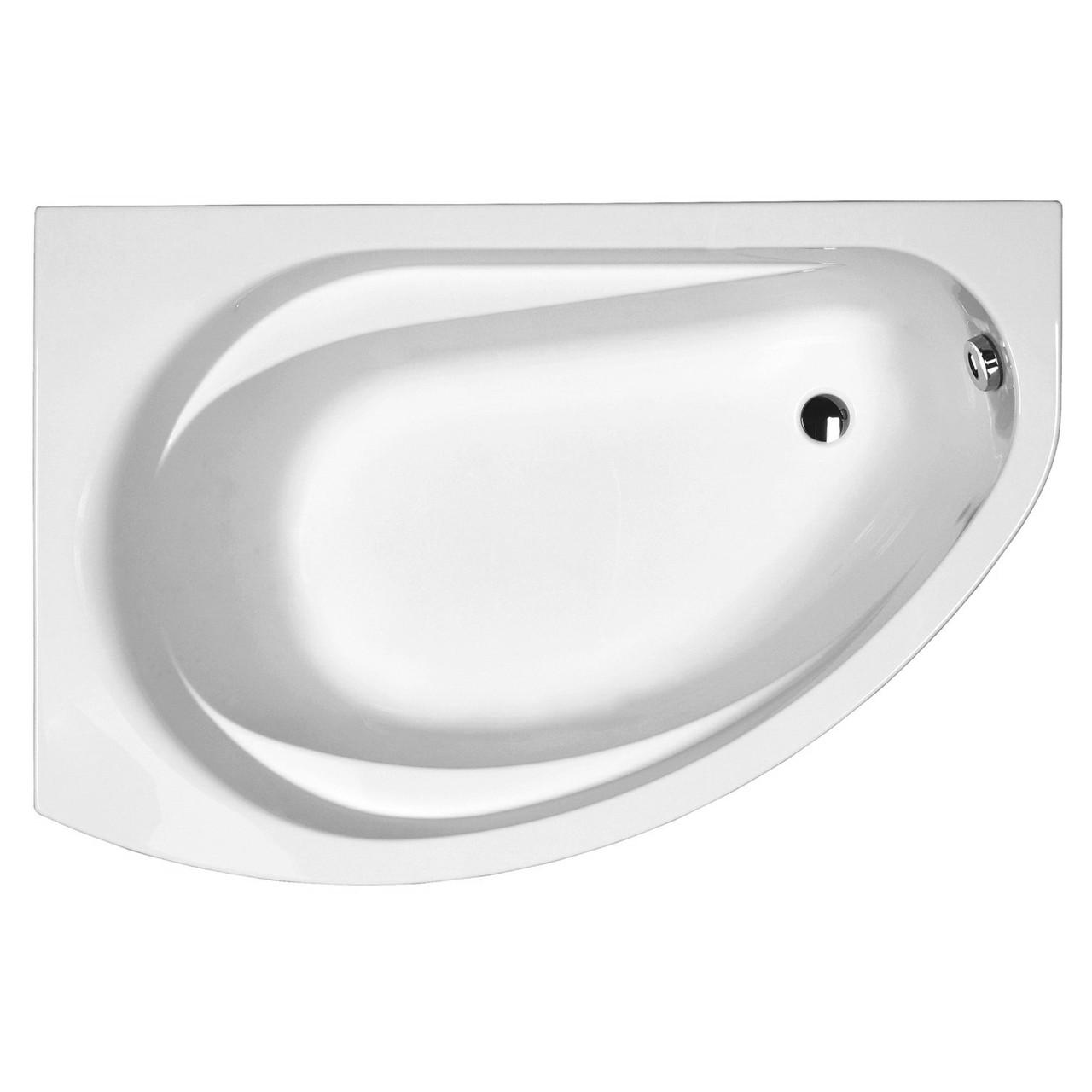 SUPERO ванна 145*85см, ассиметричная, левая, с ножками SN14
