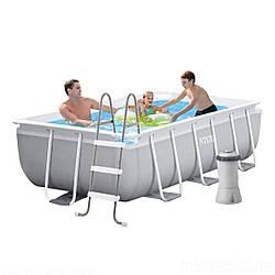 Кращий Каркасний басейн Intex 26784, 300х175х80 см (фільтр-насос, сходи)