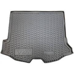М'який поліуретановий килимок в багажник VOLVO V60 (2013)/Вольво В60
