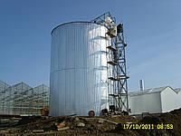 Резервуар вертикальный стальной РВС-400 м³ м.куб для воды с монтажом, изготовление резервуаров