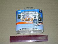 Лампа фарная H7 12V 55W PX26d Silverstar (+50%) Hard DuoPET (2 шт) (производство Osram ), код запчасти: 64210SV2-HCB-DUO
