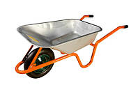 Тачка садово-строительная 85 л/ 150 кг, одноколесная MASTERTOOL 79-9844