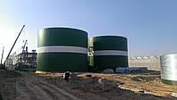 Резервуар вертикальный стальной РВС-1000 м³ м.куб для воды с монтажом, изготовление резервуаров