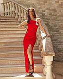 Вечірнє плаття жіноче Костюмка Розмір 42 44 46 48 В наявності 4 кольори, фото 2